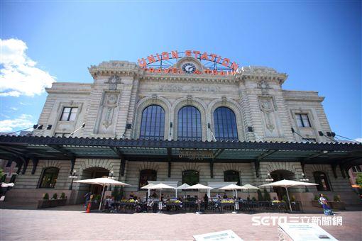 美國丹佛旅遊景點, Denver Union Station。(圖/記者簡佑庭攝)