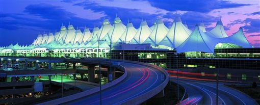美國丹佛機場。(圖/翻攝自Visit Denver)