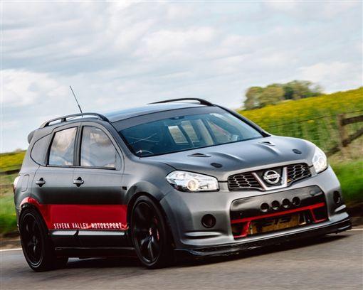地表最強SUV不是Urus是 2000hp的Nissan Qashqai-R(圖/車訊網)