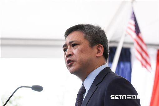 美國在台協會AIT入厝典禮,處長梅建華。 (圖/記者林敬旻攝)