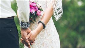 結婚,婚禮,新人(圖/翻攝自Pixabay)