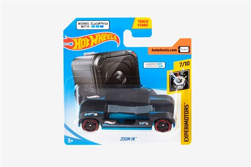 Hot Wheels Zoom In攝影車。(圖/翻攝Hot Wheels網站)