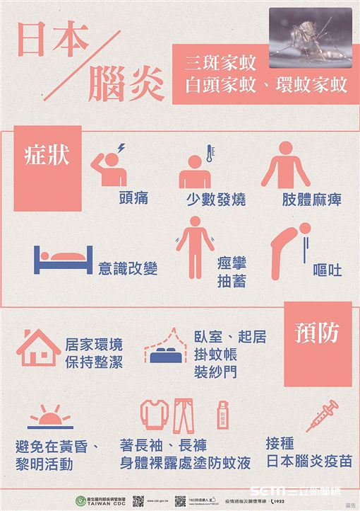 日本腦炎進入流行高峰期,高雄市全面防疫。(圖/高雄市衛生局提供)