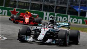 Mercedes-AMG Petronas Motorsport持續在F1車隊積分排行榜上獨領風騷。(圖/Mercedes-Benz提供)