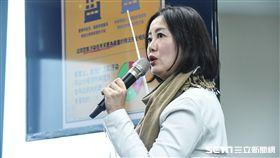 民進黨發言人立委吳思瑤。 圖/記者林敬旻攝