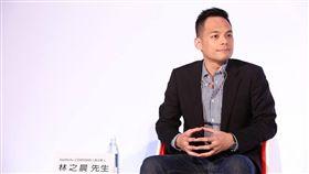 台灣大新獨董林之晨、 AppWorks 之初創投 圖翻攝自林之晨臉書