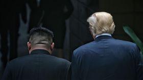 川金會,川普,金正恩(攝影/Kevin Lim/THE STRAITS TIMES)新加坡官方提供,僅供即時發布新聞用