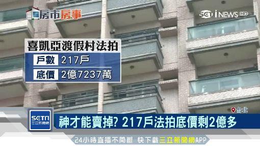 神才能賣掉的房子?217戶法拍10年