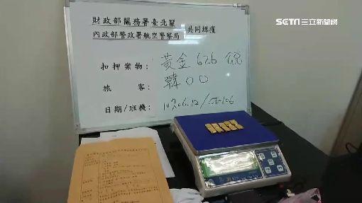 行李藏超額黃金 赴日旅遊先被罰82萬元