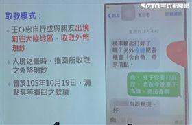 王炳忠去中國拿錢,北檢。潘千詩攝影
