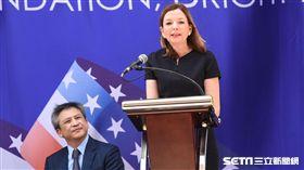 美國在台協會AIT入厝典禮,助理國務卿羅伊斯。 (圖/記者林敬旻攝)