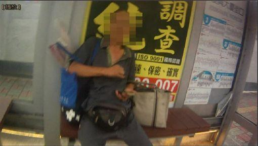 男被趕出家門,竟意圖縱火還稱是在「做法事」祈福。(圖/翻攝畫面)