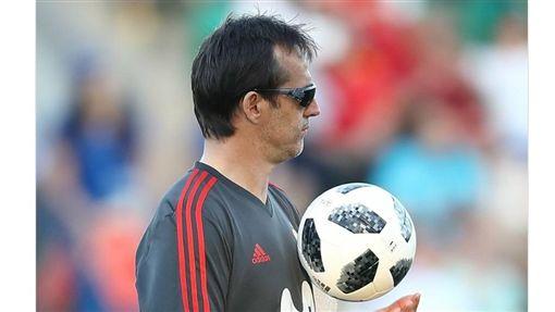 西班牙總教練Julen Lopetegui。(圖/翻攝自Lopetegui推特)
