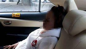 泰國,車禍,化妝,眼線筆,意外,噁心畫面,驚悚 圖/翻攝自臉書