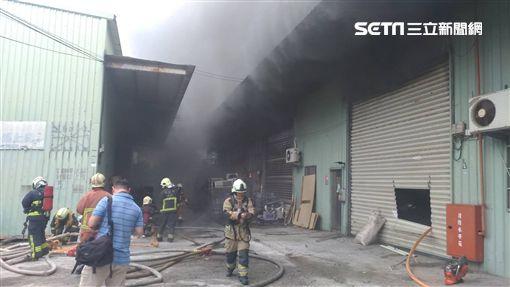 新北市,土城,大安路,火警,豆腐工廠,全面燃燒