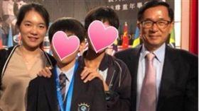 陳水扁參加小孫子國小畢業典禮/新勇哥物語