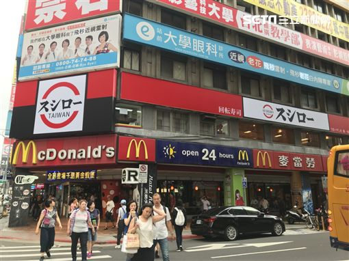 壽司郎台北旗艦店。(圖/記者簡佑庭攝)