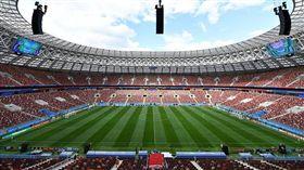 世界盃開幕賽球場。(圖/取自FIFA官方推特)