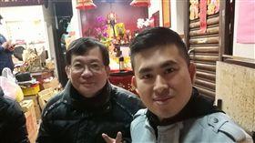 """王進步、王炳忠、板橋玉旨代天堂(圖/翻攝自進步師 """"幹"""" 新聞臉書)"""
