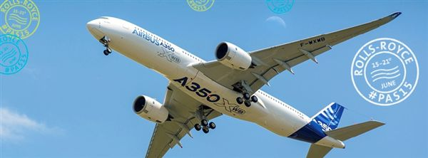 英國航太引擎大廠勞斯萊斯公司(Rolls-Royce PLC),空中巴士A350(圖/翻攝自Rolls-Royce plc臉書)
