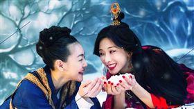 《吃吃的愛》小S(徐熙娣)/林志玲。(翻攝臉書)