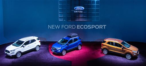 New Ford EcoSport。(圖/Ford提供)