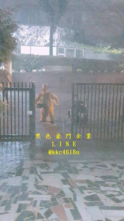 淹水,警戒,梅雨,水災,災情,豪雨,水利署,豪雨,大雨,台南 圖/翻攝自臉書
