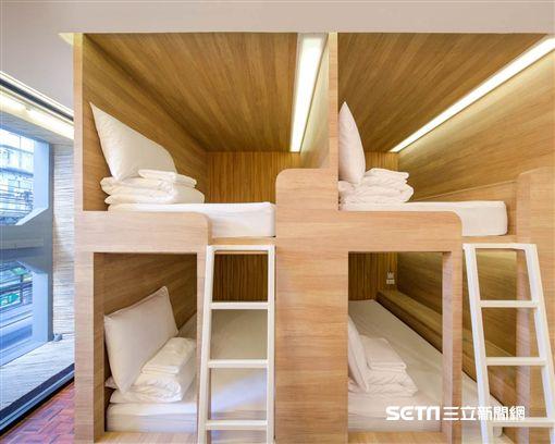全球十大輕奢華青年旅舍,Poshtel。(圖/Expedia提供)