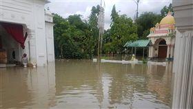 印度東北部豪雨成災(圖/https://twitter.com/pyc_manipur/status/1007114697491927045)