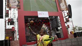 巴西瘋世足!世足賽可為巴西帶動逾千億元商機。(圖/美聯社/達志影像)