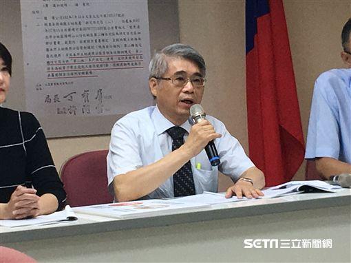 國民黨市議員開記者會護侯友宜台大宿舍 盧冠妃攝