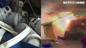 台中大智市場炸物食品加工行氣爆意外