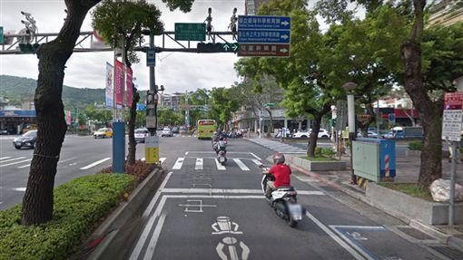 中山北路五段 圖/GOOGLE MAP