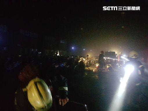 新北市,五股,消防員,機車倉庫,存放,燒毀,