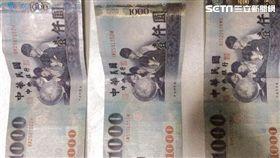 新北,中和,竊盜,偷竊,現金,鈔票,監視器畫面(圖/翻攝畫面)