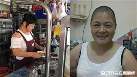 台中單親媽罹5癌賣麵養家、提供代用麵鄭大姊/記者張雅筑攝、鄭大姊提供