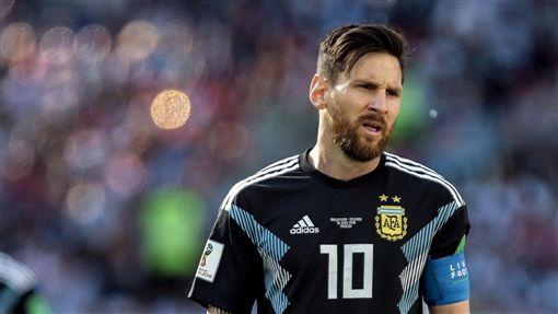 阿根廷梅西(Lionel Messi)。(圖/美聯社/達志影像)