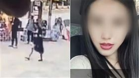 中國大陸女演員張遇情遭美容院老闆掐死棄屍(圖/翻攝自梨視頻)