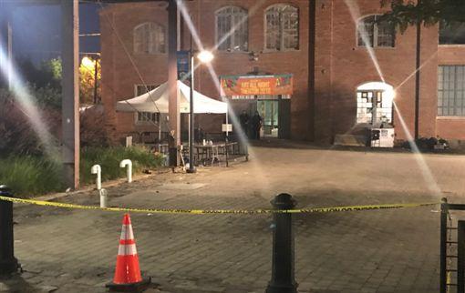 新澤西州藝術節槍響,1死20傷。(圖/翻攝推特)
