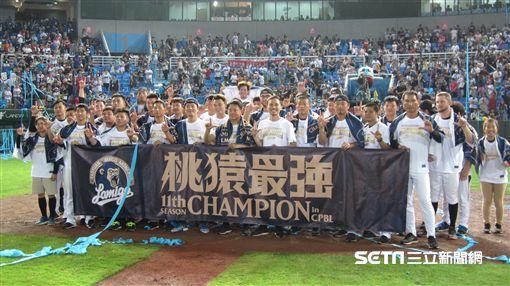 ▲Lamigo連續3次獲得季冠軍。(圖/記者蕭保祥攝)