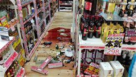 日本,大阪,地震 翻攝畫面