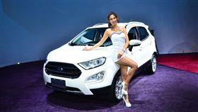 Ford EcoSport全面採用三汽缸引擎。(圖/鍾釗榛攝影)