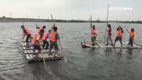 克難划膠筏1200