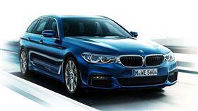 BMW5系列(圖/翻攝自BMW 官網)