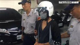 台北,新北,分屍,棄屍,魚刀,凶器,塑膠袋,騎機車(圖/翻攝畫面)