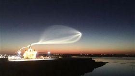 UFO,世界盃,足球賽,火箭,俄羅斯,飛行器,軌跡,導彈,攻擊,試射,飛彈,外星人 圖/翻攝自推特