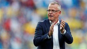 瑞典總教練安德森。(圖/路透/達志影像)