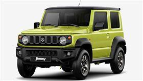 Suzuki Jimny。(圖/翻攝Suzuki網站)