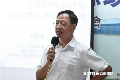 長風文教基金會舉辦「台灣能源政策」記者會,江宜樺發言。 (圖/記者林敬旻攝)