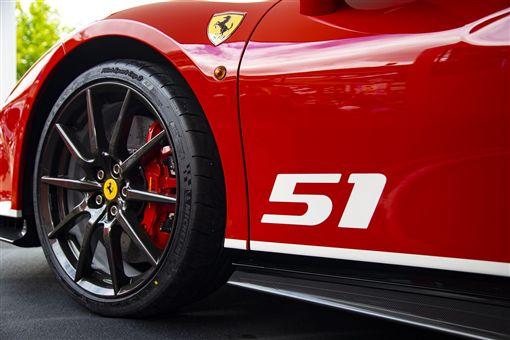 「Piloti Ferrari 」488 Pista。(圖/Ferrari提供)